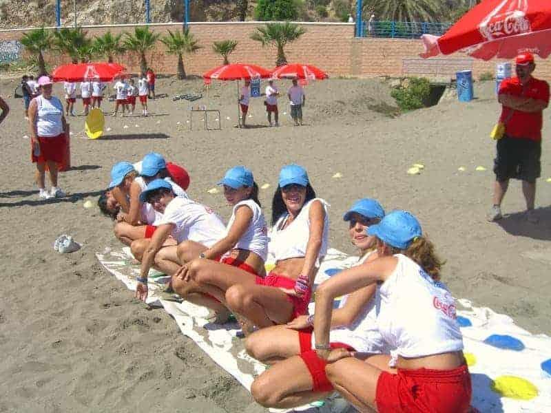 beach-team-building-spain