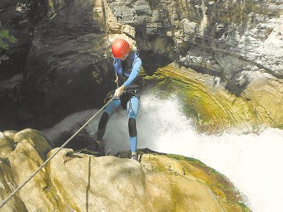 canyoning-spain