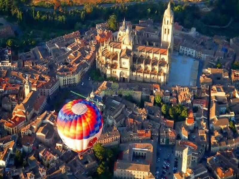 ballongtur Segovia